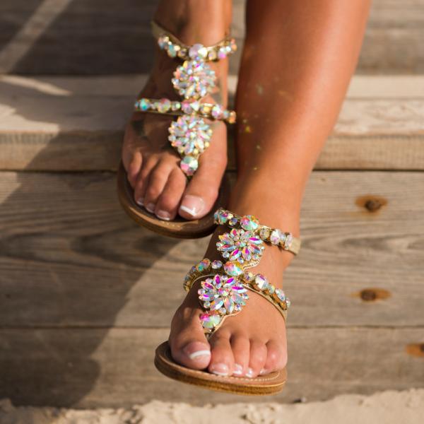 Milano Crystals Sandals-111472-20